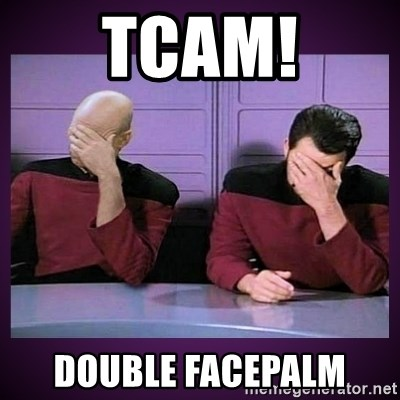 Double Facepalm - tcam! double facepalm