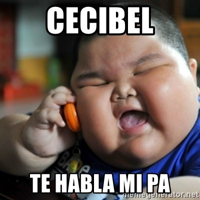 fat chinese kid - CECIBEL TE HABLA MI PA