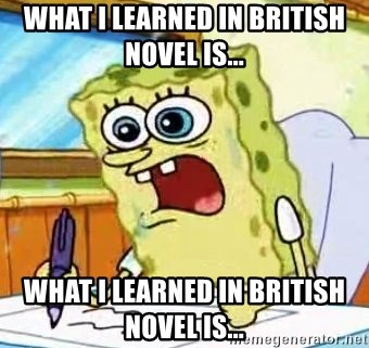 Spongebob What I Learned In Boating School Is - what i learned in british novel is... what i learned in british novel is...