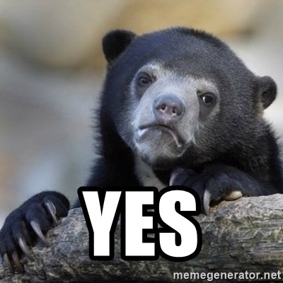 Confessions Bear -  Yes