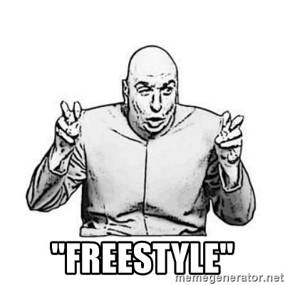"Sceptical Dr. Evil -  ""FREESTYLE"""