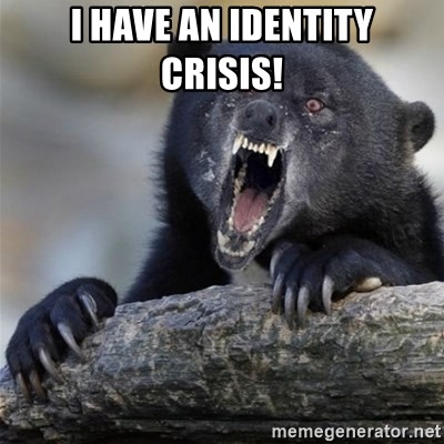 Insane Confession Bear - I have an identity crisis!