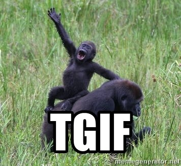 Happy Gorilla -  tgif