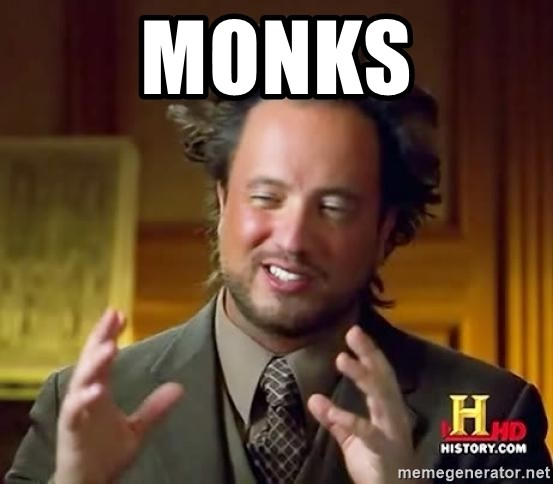 Ancient Aliens - Monks