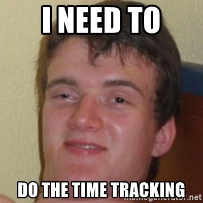 10guy - I need to do the time tracking