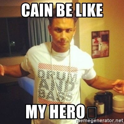 Drum And Bass Guy - CAIN BE LIKE MY HERO😍