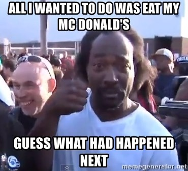 charles ramsey 3 - All I wanted to do was eat my mc Donald's  GuesS what had happened next