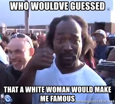 charles ramsey 3 - Who woulDve guessed That a white woman would make me fAmous