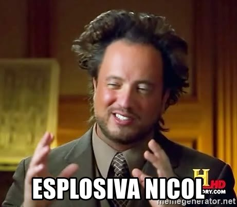 Ancient Aliens -  Esplosiva NICOL
