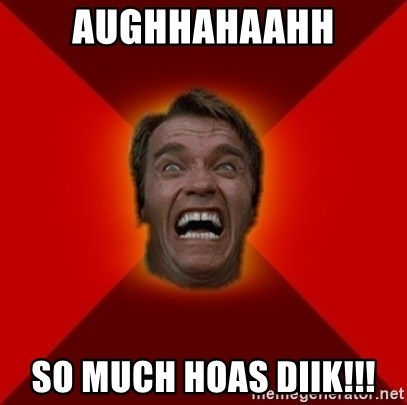 Angry Arnold - AUGHHAHAAHH SO MUCH HOAS DIIK!!!