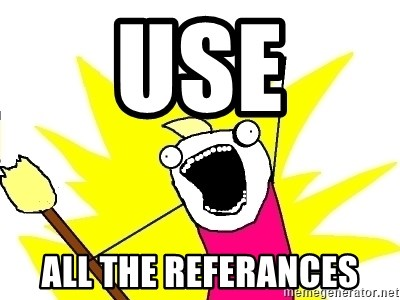 X ALL THE THINGS - Use All the refErances