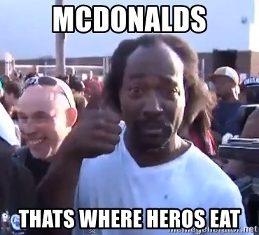 charles ramsey 3 - McDONALDS Thats wHERE HEROS EAT