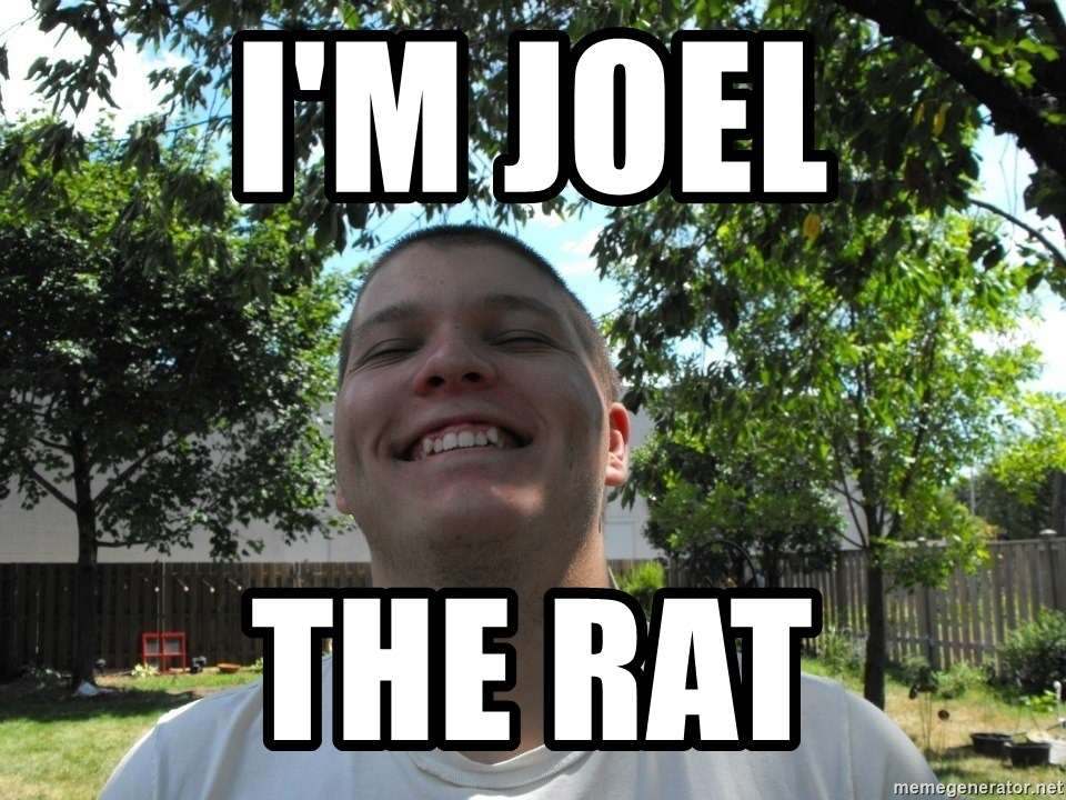 Jamestroll - I'M JOEL THE RAT