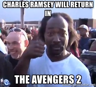 charles ramsey 3 - charles Ramsey will return in the avengers 2