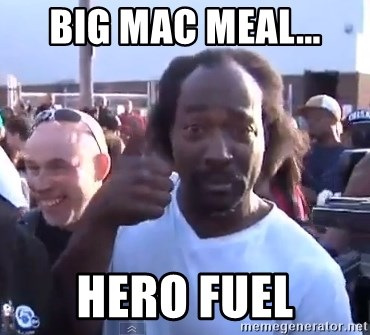 charles ramsey 3 - big mac meal... hero fuel