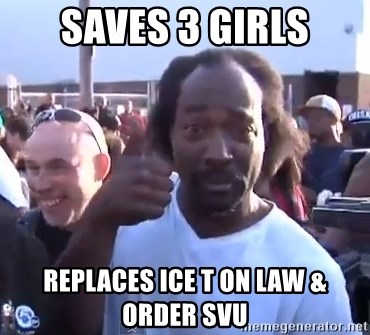 charles ramsey 3 - saves 3 girls replaces ice t on law & order svu