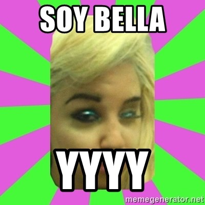 Manda Please! - SOY BELLA  YYYY