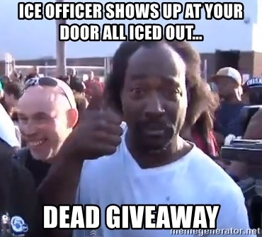 charles ramsey 3 - ICE OFFICER SHOWS UP AT YOUR DOOR ALL ICED OUT... DEAD GIVEAWAY