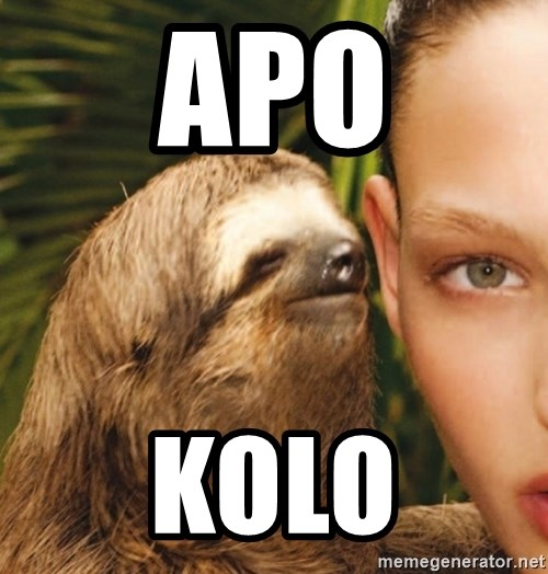 The Rape Sloth - apo kolo