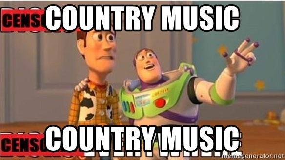 Toy Story Everywhere - Country music Country music