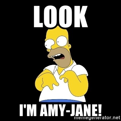 look-marge - LOOK I'M AMY-JANE!