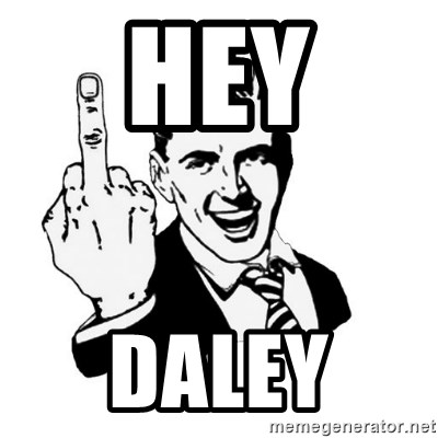 middle finger - Hey Daley