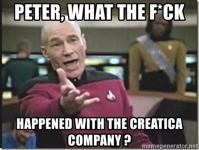 star trek wtf - peter, What the f*ck  happened with the creatica company ?