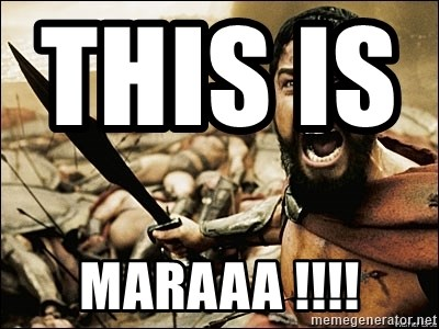 This Is Sparta Meme - this is                MARAAA !!!!