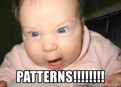 Angry baby -  Patterns!!!!!!!!