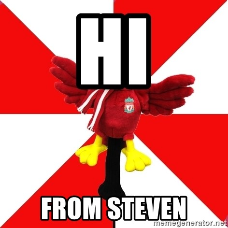 Liverpool Problems - hi from steven