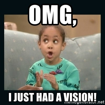 Raven Symone - OMG, I JUST HAD A VISION!