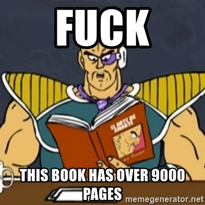 El Arte de Amarte por Nappa - fuck this book has over 9000 pages