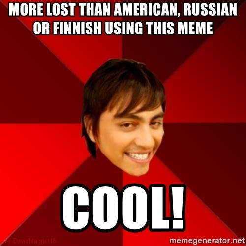 Un dia con paoly - More lost than american, russian or finnish using this meme cool!