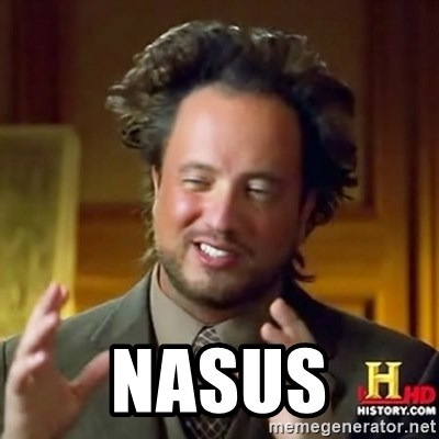 ancient alien guy -  NASUS