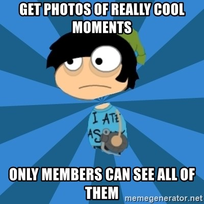 Poptropican - Get photos of really cool Moments Only members can See All of Them