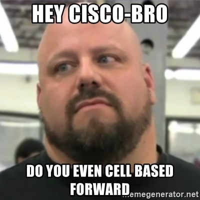 Do You Even Lift Guy - Hey Cisco-Bro Do you even cell based forward