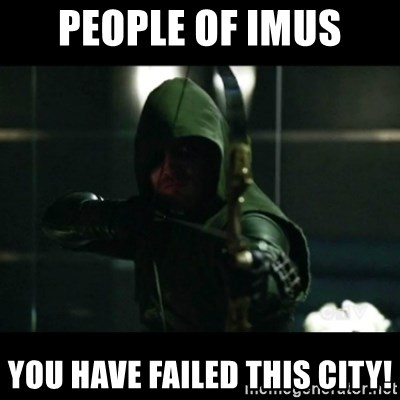 YOU HAVE FAILED THIS CITY - People of Imus You have failed this city!