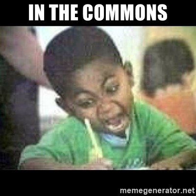 Black kid coloring - IN THE COMMONS