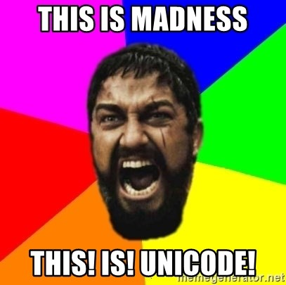 sparta - This is madness this! is! unicode!