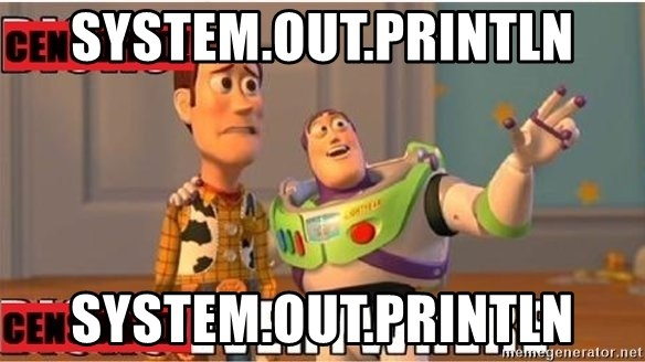 Toy Story Everywhere - System.out.println System.out.println