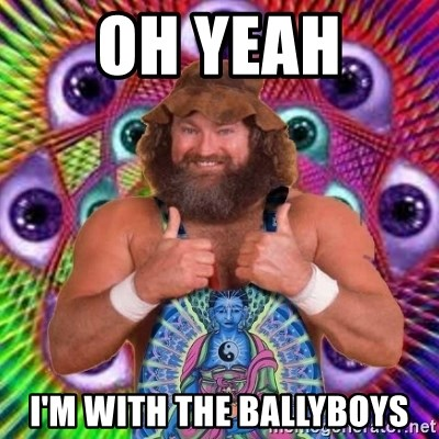 PSYLOL - OH YEAH  I'M WITH THE BALLYBOYS