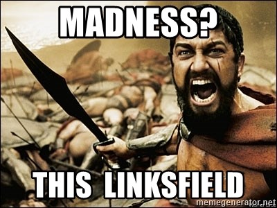 This Is Sparta Meme - madness? this  linksfield