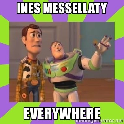 X, X Everywhere  - INES mESSELLATY EVERYWHERE