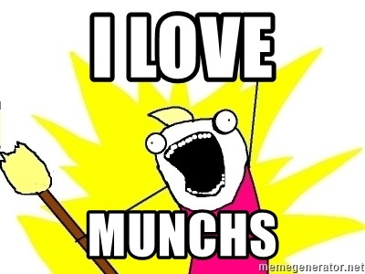 X ALL THE THINGS - i love munchs
