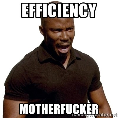 Doakes SURPRISE - EFFICIENCY  MOTHERFUCKER