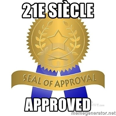 official seal of approval - 21e siècle Approved
