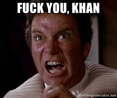Khan - fuck you, khan