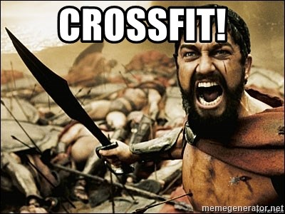This Is Sparta Meme - crossfit!