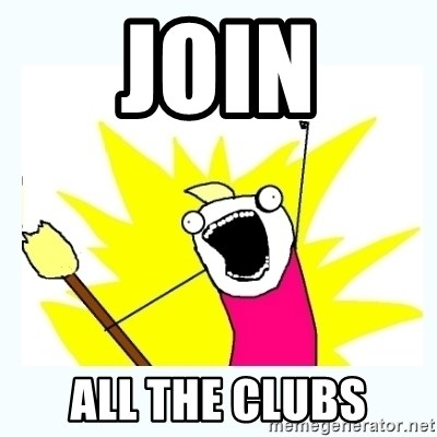 All the things - join all the clubs