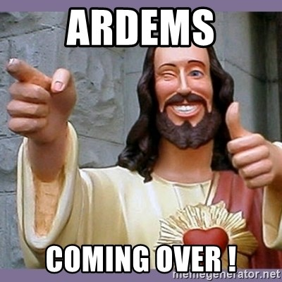 buddy jesus - ARDEMS COMING OVER !